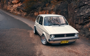 дорога, подьем, горка, фото, обои авто, Volkswagen