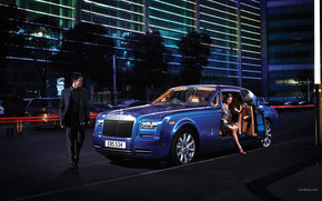 Rolls-Royce, Fantasma, Coche, Maquinaria, coches