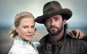 Australia, film, actors, Hugh Jackman, Nicole Kidman