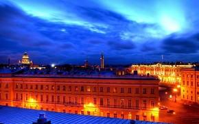 Roof, Peter, St. Petersburg, White Nights