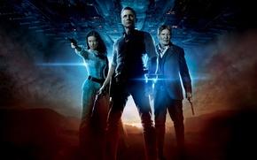 Cowboys and Aliens, Olivia Wilde, Daniel Craig, Harrison Ford, film, Movies, movie