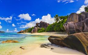 Maldives, Seychelles, island