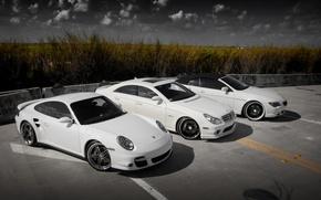 Porsche, Mercedes, BMW, Auto, auto, macchinario, Auto