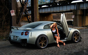 macchina, Auto, ragazza
