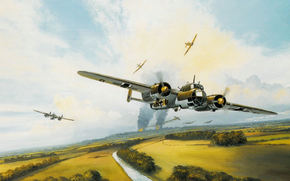 Dornier, twin-engined, German, bomber, Battle of Britain, Aircraft Battle