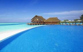море, багамы, мальдивы, сейшелы, бассейн, прозрачная вода