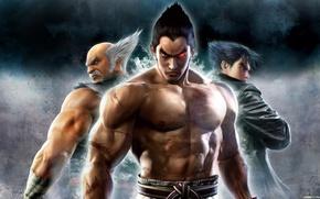 Tekken, Jin Kazama, Kazuya Mishima, fighters