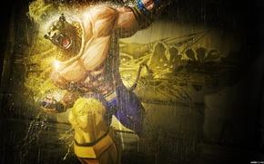 Re, Tekken, leopardo, giallo