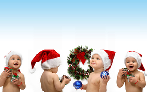 новый год, праздник, настроение, радость, счастье, улыбки, малыши, дети, ребенок, лялька, подарки, Новый год