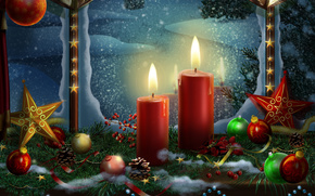 ball, Balls, Beautiful, beauty, Bells, Candles, Christmas, Christmas balls, Christmas bells, Colorful, color, cool, garland, Gold, New Year