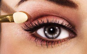макро, фото, глаз, тени, макияж, ресницы