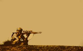 Sniper, sniper, soldier, wait