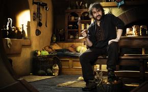 Peter Jackson, Ripresa, Hobbit, tubo, fumare
