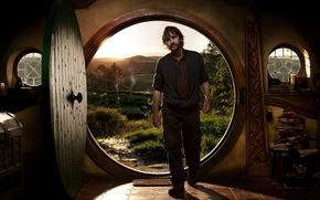 Peter Jackson, direttore, ripresa, Hobbit, porta, soglia