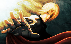 Fullmetal Alchemist, hand, Elric, Armor