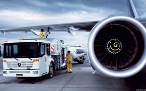 машина, тюнинг, самолет, грузовик, мерседес, крыло, турбина, автомобили, машины, авто
