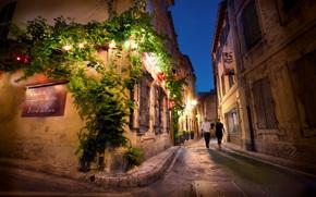 франция, ночь