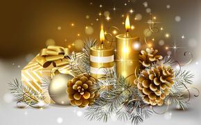 pika, pikny, pikno, skrzynka, wiece, Boe Narodzenie, kolor, chodny, cienki, prezenty, zoto, zoto, Happy New Year, wito, adny, Wesoych wit, drogi, pikny, Tama, zima, Nowy Rok