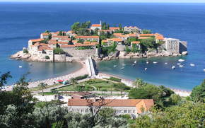 Montenegro, Saint Stephen, Island Hotel, Adriatic, recreation, tourism, travel
