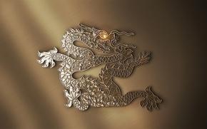 金, 中国的, 龙