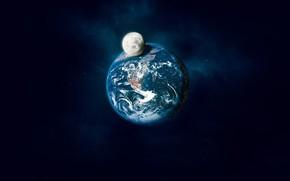 luna, terra, ombra
