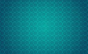круги, бирюзовый, текстура