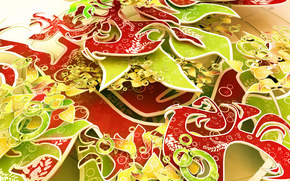 цвета, слои, текстуры