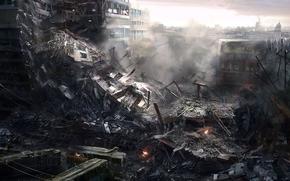 city, war