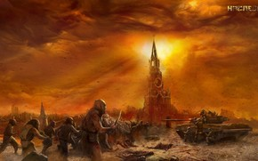 sergey tarmashev, heritage, postapokalipsis, devastation, Moscow, mutants.