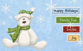 Tenga, inscripciones, familia, sonrer, fiesta, diversin, Los copos de nieve