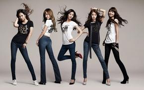 музыка, девушки, джинсы, волосы, группа, южная корея, азиатки