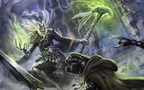 Art, sorcier, magie, Undead
