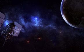 планета, орбитальная станция
