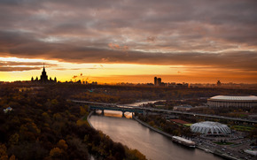 Mosca, urbano, paesaggi