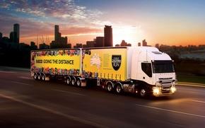 Iveco, auto, trailer, trattore, camion, auto, macchinario, Auto