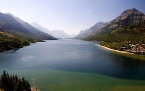 natura, paesaggi, mare, Montagne