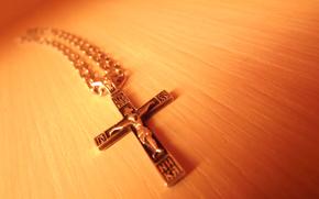 cross, faith, macro, crucifix