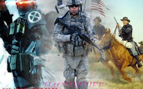 soldato, soldati, Oggi, futuro, passato, guerra, arma