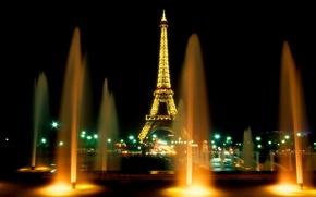 Париж, фонтан, башня