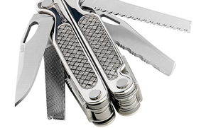 Leatherman, cnife, arma