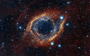 nebula, Snail, constellation, Aquarius