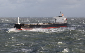 sea, stormy, waves, dry-cargo ship, Other machinery and equipment