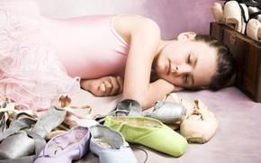 Balletto Little Girl, Bella addormentata nel bosco, Ballet Shoes, Infanzia, bambini