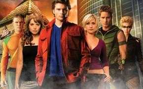 Smallville, Smallville, Smallville, secrets of Smallville, Erica Durance, Tom Welling, Allison Mack, Justin Hartley, superman, Superman, wallpaper