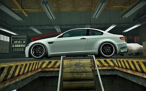 BMW, m3, E92, bbs, nfs, mundo, color blanco