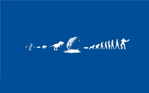 Evolucin, Dinosaurios, personas, meteoritos