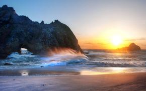 Meer, Sonne, Strand, Landschaft