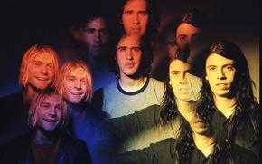 nirvana, Kurt Cobain, Krist Novoselic, Dave Grohl