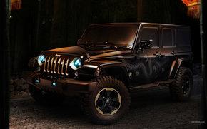 Jeep, Wrangler, авто, машины, автомобили
