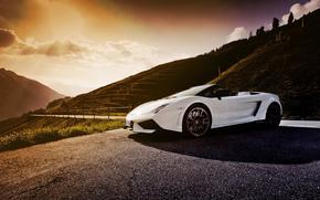 Lamborghini, road, Lamborghini